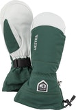 Army Leather Heli Ski / Bottle green
