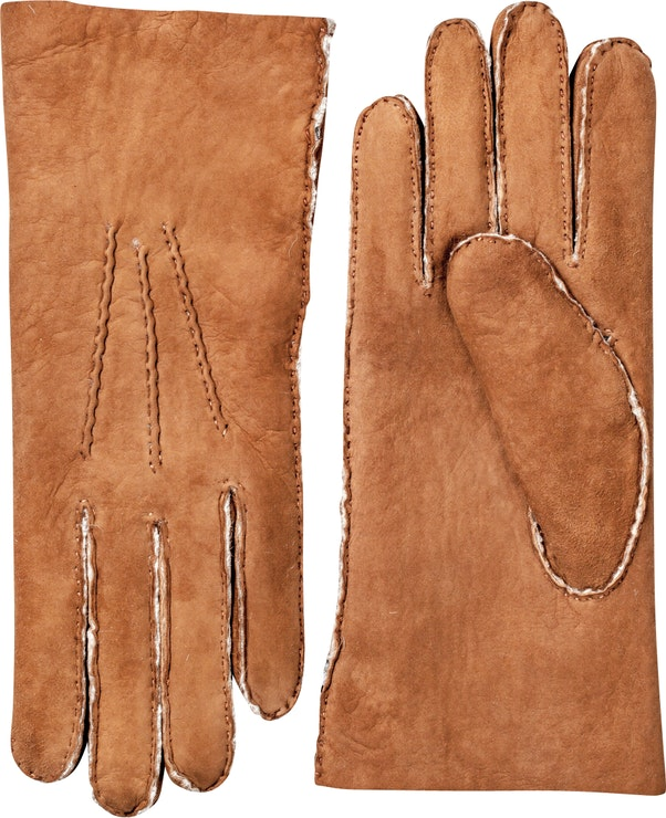 Product image for Lambskin Suede Handsewn, Cork