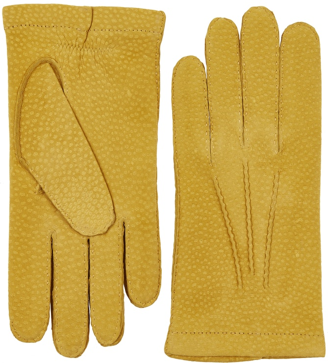 Product image for Carpincho Handsewn Cashmere, Yellow