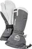 Army Leather Heli Ski / Grey