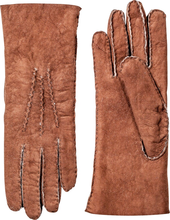 Product image for Lambskin Suede Handsewn, Brown