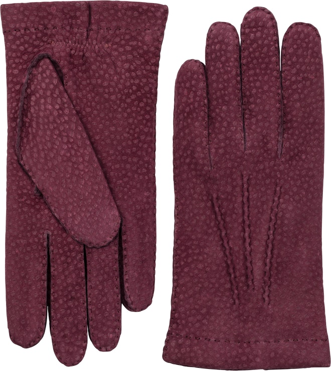 Product image for Carpincho Handsewn Cashmere, Bordeaux