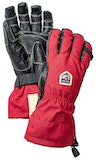 Army Leather Heli Ski Ergo Grip / Red / Black