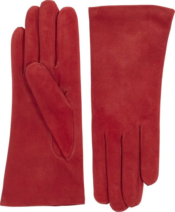Product image for Hairsheep Suede Piqué Cashmere 2 Bt, Red