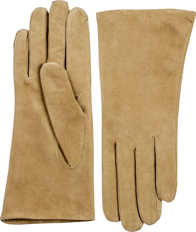 Product image for Hairsheep Suede Piqué Cashmere 2 Bt, Camel