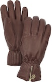 Leather Swisswool Classic - 5 finger / Brown