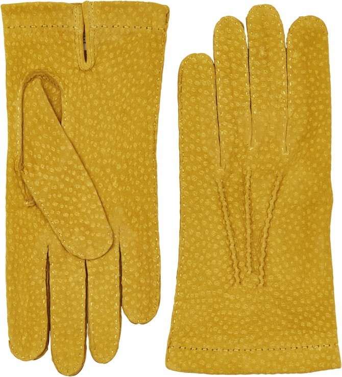 Product image for Carpincho Handsewn Unlined, Yellow