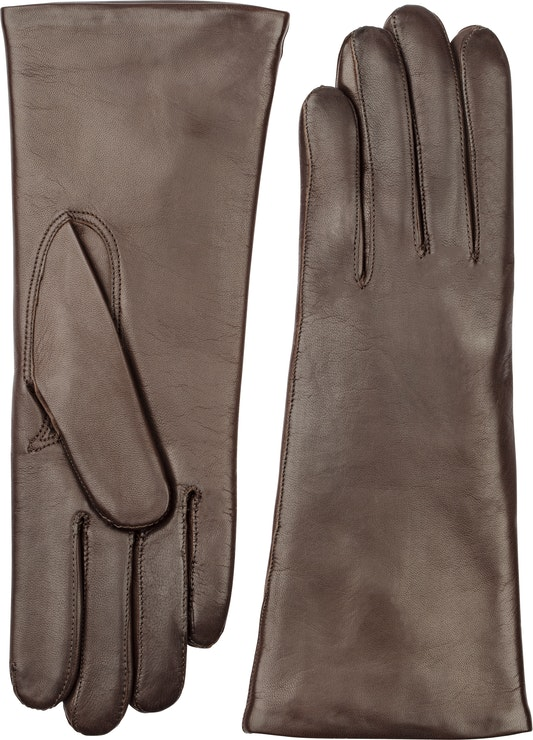 Product image for Harisheep 3 Bt Piqué Cashmere Long Fingers, Chocolate