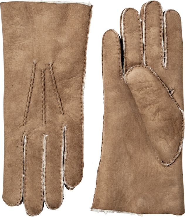 Product image for Lambskin Suede Handsewn, Sand