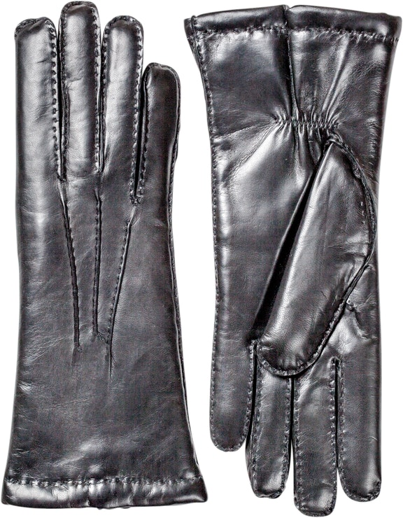 Product image for Hairsheep Handsewn Lambskin Lined, Black