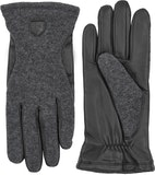Hairsheep Wool Tricot / Charocoal / Black