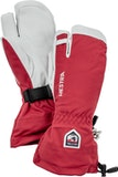 Army Leather Heli Ski / Red