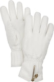Leather Swisswool Classic - 5 finger / White