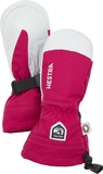 Army Leather Heli Ski Jr. / Fuchsia
