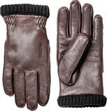 Deerskin Primaloft Rib / Dark brown